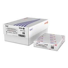 Xerox Glossy Paper, Ultra Smooth, Ltr, 80lb, 94 Bright, 600/CT, WE