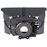 Fotga DP500 III DSLR Swing Away Matte Box + Sunshade Board +Filter Holder + 15mm Rod Adapter for Canon 5D3 BMPCC Sony A7R A7S Panasonic GH3 GH4 GH5 Camera by Fotoplaza