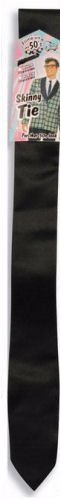 (Forum Novelties 50's Skinny Black Tie Adult)