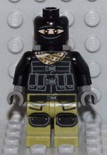 Minifigure Lego TMNT Foot Soldier (Olive Green Legs)