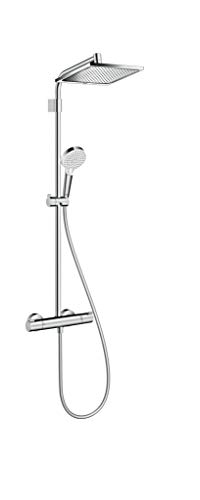 Hansgrohe Crometta E 240 Varia 26781000 Shower Column with Adjustable Fixings