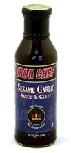(Iron Chef Sauce & Glaze Sesame Garlic -- 15 fl oz)