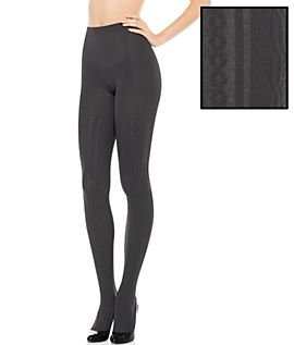 59fafd79ea6bf Image Unavailable. Image not available for. Color: Spanx Cable Knit Sweater  Tights ...
