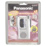 Panasonic RN3053 MicroCassette Recorder Bundle