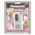 Panasonic RN3053 MicroCassette Recorder Bundle by Panasonic