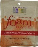 AURA CACIA FOAM BATH,GINGER & MINT, 2.5 OZ