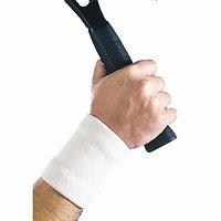 Maxar Wool Wrist Brace (56% wool), White, Small, 1 ea - 2pc