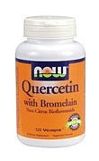 NOW QUERCETIN with BROMELAIN - 120 Vcaps