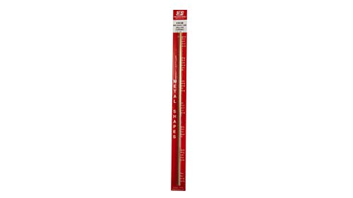 K & S Precision Metals 8129 3/16x12 RND BRS Tube