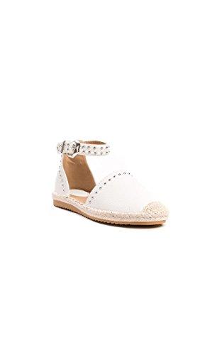 Ikrush Womens Steffi Studded Espadrille Sandals White cSEtNTOP