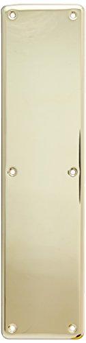 Baldwin Hardware 2115.003 ColdForged Push Plate Indoor ()