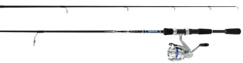 Daiwa D-Shock 155 Yards 4 Line 5 1/2-Feet Fibreglass Spin Combo (Light)