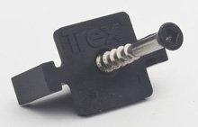 Trex Hideaway Universal Deck Clips 50 SQFT {90ct. Hidden Fas