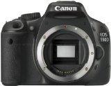 Canon EOS 550D (European EOS Rebel T2i) 18 MP CMOS APS-C Digital SLR Camera, Made in Japan (Body) (550d Body)