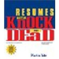 Resumes That Knock 'em Dead by Yate, Martin [Adams Media Corporation, 2004] (Paperback) 6th Revised & Expaned Edition [Paperback]