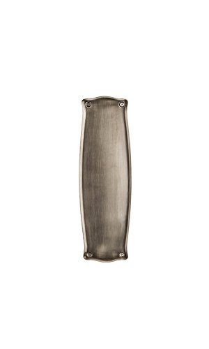 Nostalgic Warehouse Prairie Push Plate, Antique - Plate Pewter Kick