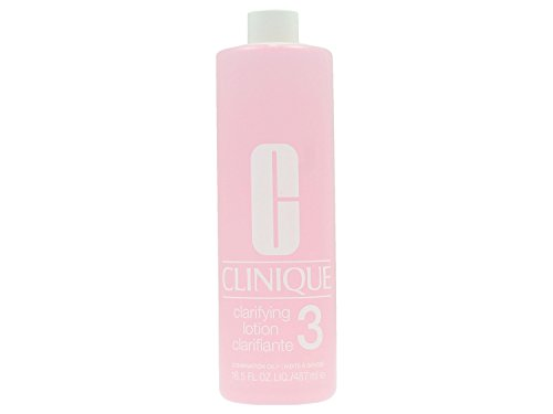 Clinique Clarifying Lotion Skin Type 3 Combination To Oily Skin 16.5 Ounce Includes Pump (Best Body Lotion For Oily Skin)