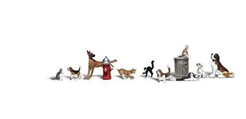 Woodland Scenics O Dogs & Cats WOOA2725
