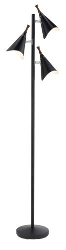 Black Fluorescent Floor Lamp - 4