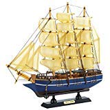 Zings & Thingz 57074258 Cutty Sark Model Ship Cream