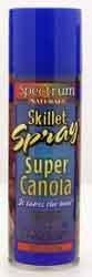 Spectrum Naturals High Heat Canola Skillet Spray 6 Oz (Pack of 3)