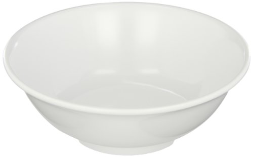 Carlisle 4373702 Melamine Footed Serving Bowl, 24 fl. oz. Capacity, 7-3/8