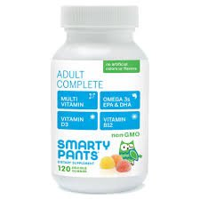 Smarty Pants Adult Complete Delicious Gummy Vitamins - 120 Count for $<!--$7.95-->