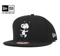 PEANUTS 9FIFTY SNAPBACK CAP SNOOPY BLACK HAT NEW ERA JAPAN FREE ... 11b60f1a7e7