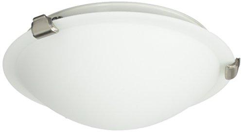 Brunito Clip Flush (Artcraft Lighting Clip Flush Small Round Flush Mount Light, Brushed Nickel)