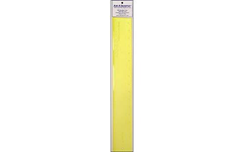 (CM Designs 18-Inch Add-A-Quarter Ruler, Yellow)