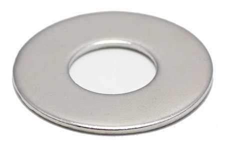 316 Stainless Steel FB3FLWASH14LOD3P100 1/4'' x 3/4'' OD NL-19(R) Finish