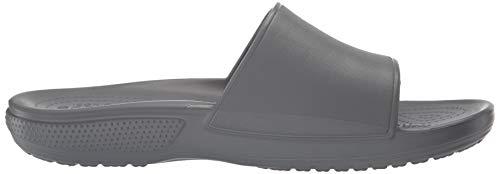 Gris Slide Mixte Sandales Ouvert Adulte slate Classic 0da Bout Crocs U Ii Grey nEO4zxEqg