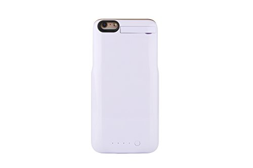 (2016 Model) Nucharger 4000mAh Sleek Design External Battery Case For IPhone 6 plus/ 6s plus (5.5