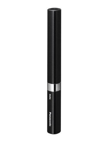 難民周術期見つけたパナソニック 音波振動ハブラシ ポケットドルツ 黒 EW-DS14-K