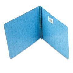 ACCO BRANDS 17022 Presstex Report Cover, Prong Clip, Letter, 2quot; Capacity, Light Blue by ACCO Brands
