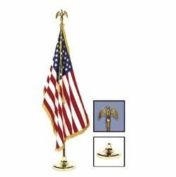 Fringed Nylon US flag kit, superb quality