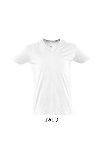 Sols Short Sleeve Tee Camiseta Master blanco
