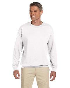 Gildan Men's Heavy Blend Crewneck Sweatshirt - XX-Large - White (Clothing Uk Sale Christmas)