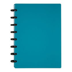 TUL(TM) Custom Note-Taking System Discbound Notebook, Junior Size, Poly Cover, Teal