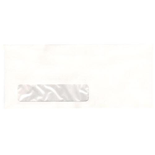 JAM Paper #10 Business Envelopes - 4 1/8'' x 9 1/2'' - Strathmore Bright White Laid - 500/box by JAM Paper