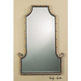 Antique Gold Himalaya Iron Arched Mirror 10770 B by Uttermost
