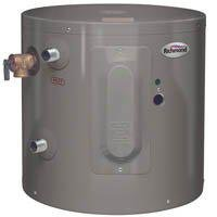 RHEEM/RICHMOND Richmond 6ep6-1 Electric Water Heater, 2000 W, 120 Vac, 6 Gal Tank, 6 gallon by Rheem, Richmond,