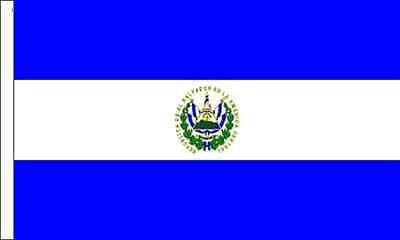 El Salvador Drapeau Convient pour bateaux à manches 45cm x 30cm (45,7x 30,5cm) + 59MM Bouton Badge