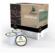 Caribou Coffee Obsidian Black Roast K-Cups Coffee, 18 count(Case of 2) by Caribou Coffee