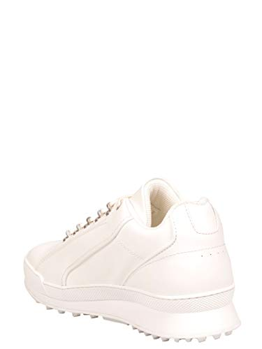 Sneakers 501612d26009030 Uomo Pelle Laurent Saint Bianco w5SA8W