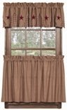 Vintage Star Wine 36″ Curtain Tiers Review