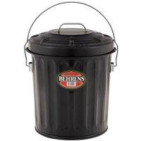 metal ash bucket with lid - 9
