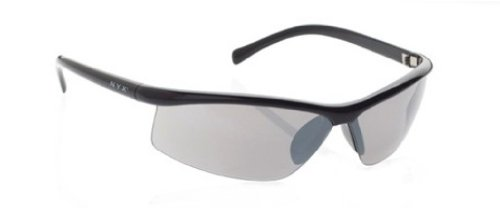 NYX Lightning Sunglasses (Shiny Black Frame/Gray Polarized - Sunglass Nyx