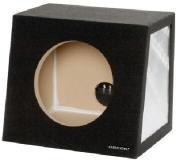 "OBCON Single 12"" Sealed Hatchback Speaker Box"