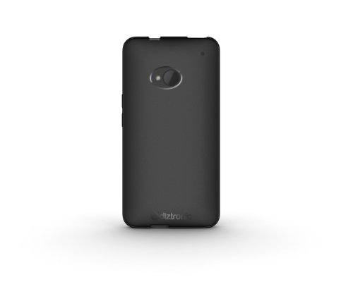 HTC One Case, Diztronic Matte Back Flexible TPU Case for HTC One (Model M7, 2013) - Matte Black - (ONE-DM-BLK)